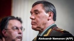 Начальник Генерального штаба Вооруженных сил России генерал армии Валерий Герасимов.