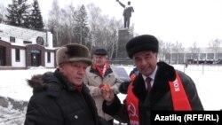 Ирек Фазыловка Сталин медале тапшыру