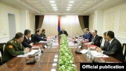 Заседания Совета безопасности Армении (архив)