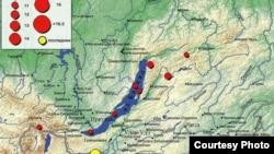 Ночью в Бурятии произошло землетрясение