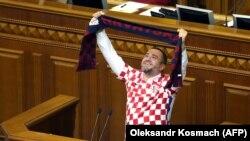 Украина Футбол федерацияси президенти ва парламент депутати Андрей Павелко.
