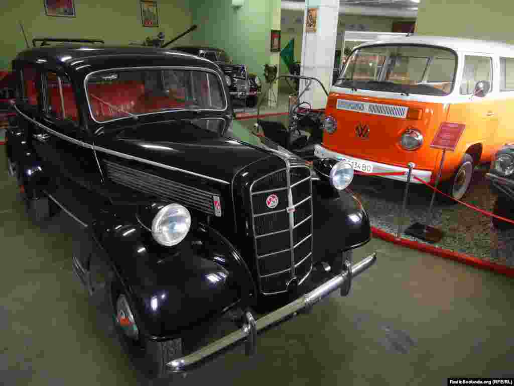 A non-Soviet artifact: an Opel Super 6, produced in Germany in 1937-38