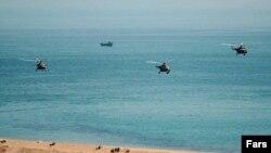 رزمایش نظامی نیروی دریایی ارتش ایران در خلیج فارس
