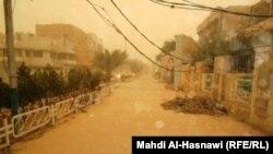 الناصرية، مدينة من غبار