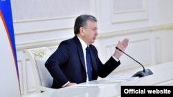 Ўзбекистон президенти Шавкат Мирзиёев