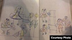 Serbia - autoizolarea, prin ochii copiilor, 14 aprilie 2020