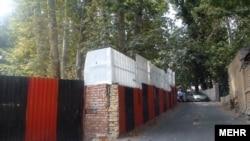 ورودی باغ پسیان