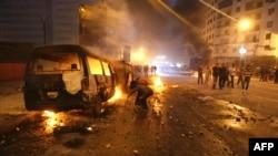 Массовые протесты в Каире