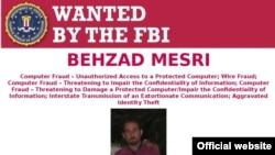ФБР объявило в розыск иранского хакера Бехзада Месри.