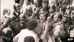 Daniel Cohn-Bendit la demonstrațiile din 1968 la Paris