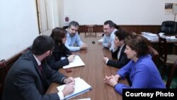 "Armenia -- Representatives of OSCE Meet with Members of ""Heritage"" Party. Yerevan, 31Jan2012"