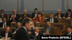 Igor Lukšić na premijerskom satu, 15. mart 2011.