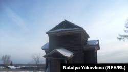 Екатерининская церковь в деревне Князевка. Была построена в 1898 году