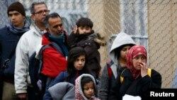Փախստականներ Ավստրիայում, փետրվար, 2016թ․