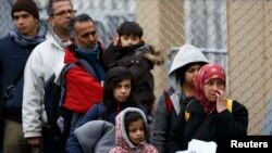 Austrian authorities say that some 130,000 people have applied for asylum in the country since 2015 (file photo).