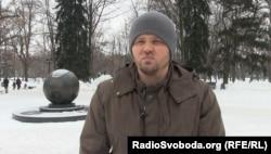 Представник ультрас «Металіста» Ігор Лядов