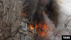 Взрыв газа в жилом доме (архивное фото)