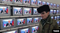 Согласно опросам ВЦИОМ, больше всего избирателям, смотревшим в этом месяце теледебаты, понравились выступления представителей «Единой России»