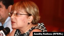 Leyla Yunus, director of the Institute for Peace and Democracy, in May 2012