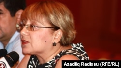 Лейла Юнус, директор Института мира и демократии в Баку.
