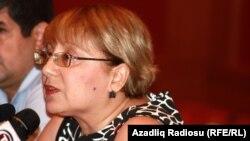Азербайджанская правозащитница Лейла Юнус