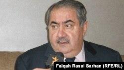 وزير المالية هوشيار زيباري متحدثاً لإذاعة العراق الحر