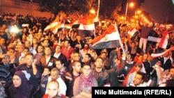 Президенттик сарайдын алдында чыккандар, 4.12.2012