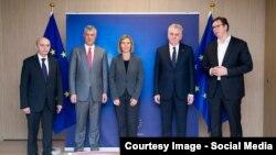 Архивска снимка: од претходните разговори на Косово и Србија во Брисел, 24.01.2017.
