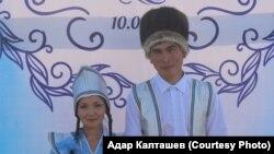 Адар Калташев в национальном костюме