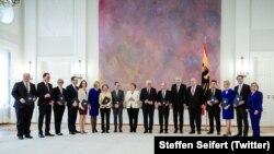 Noul cabinet Merkel