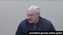 Аляксандар Лукашэнка ў СІЗА КДБ, 10 кастрычніка 2020