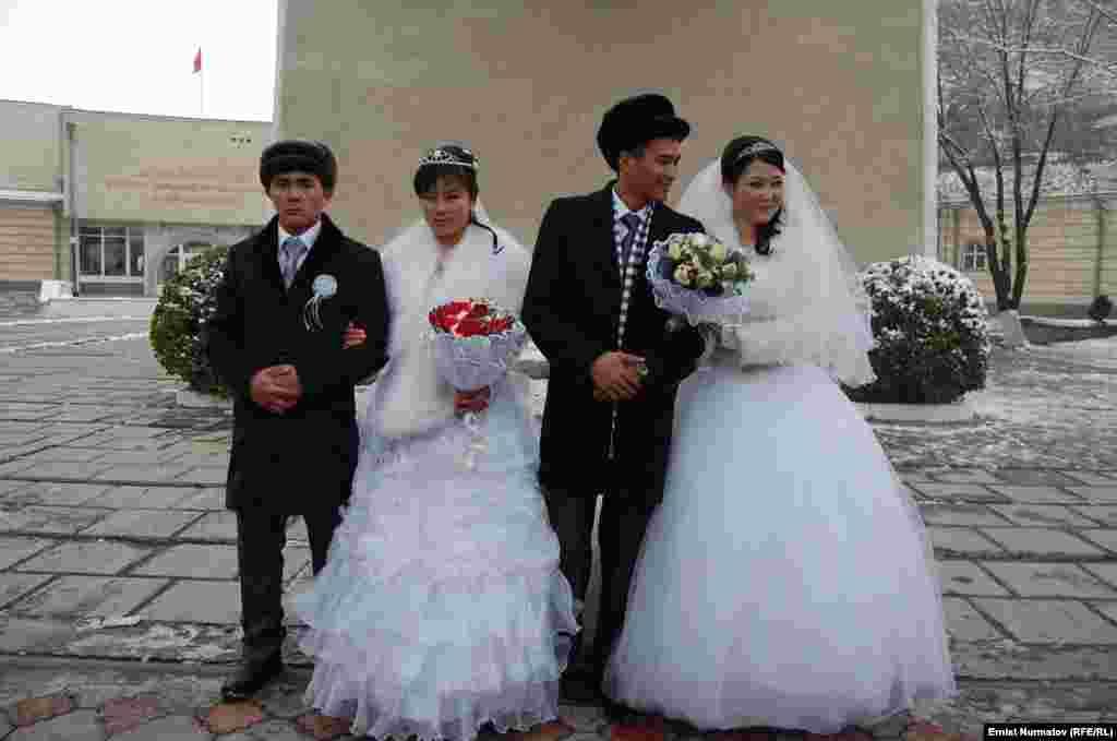 Свадебный сезон сейчас длиться почти целый год