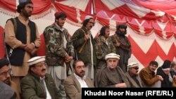 محمود خان اڅکزی او د هغه د ګوند نور مشران غړي