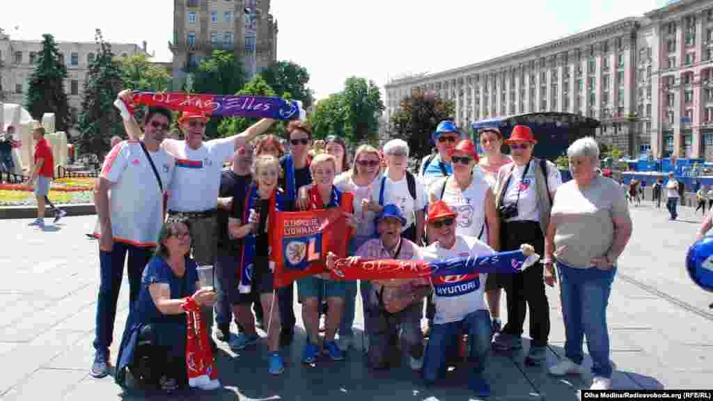 Фанаты французского «Лиона»