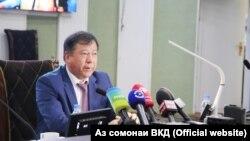 Глава МВД Таджикистана Рамазон Рахимзода.