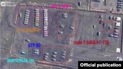 Военная техника сепаратистов (изображение InformNapalm)