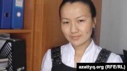Ветеринар Кишикумского сельского округа Марта Измагамбетова. 15 февраля 2014 года.