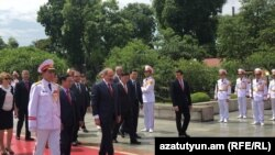 Հայաստանի վարչապետ Նիկոլ Փաշինյանը այցելում է Վիետնամ, Հանոյ, 4-ը հուլիսի, 2019թ․