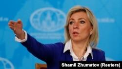 Марија Захарова, портпаролка на руското министерство за надворешни работи
