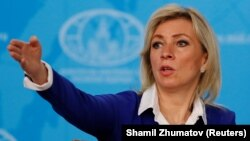 """Russia's Foreign Ministry spokeswoman Maria Zakharova: """"I think we will surprise them soon."""""""
