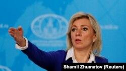 ՌԴ արտգործնախարարության խոսնակ Մարիա Զախարովա, արխիվ