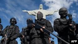 Pripadnici elitne policijske jedinice, Rio de Žaneiro, ilustrativna fotografija