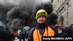 Аркадий Бабченко во время «Евромадана». Киев, 2014 год