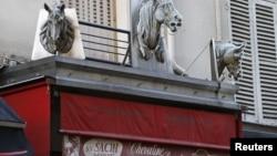 Мясная лавка в Париже, специализирующаяся на продаже конины. 16 января 2013 года.