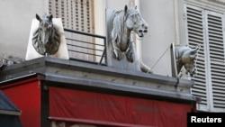 Этот магазин, торгующий кониной в Париже, уже закрыт