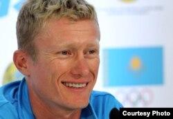Чемпион лондонской Олимпиады генеральный менеджер команды «Астана» Александр Винокуров.