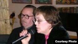 Яков Гордин и Елена Чижова