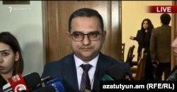 Министр экономического развития и инвестиций Тигран Хачатрян