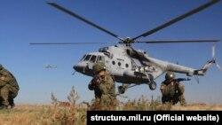 Тактичні віськові навчання російської армії в окупованому Криму.