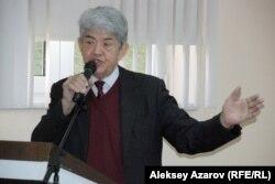 Экологический активист Мэлс Елеусизов. Алматы, 19 января 2015 года.